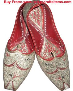 Khussa Traditional Shoes From India Costume Indische