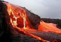 迫りくる灼熱の溶岩「キラウエア火山」の噴火画像19枚
