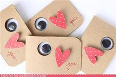 Eye Heart You Cards--how perfect would these be to say thank you to MM doctors for v-day?