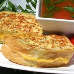 Grandma's Italian Grilled Cheese Sandwich - Click image to find more popular food & drink Pinterest pins