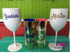 copos metalizados e taças grandes personalizados
