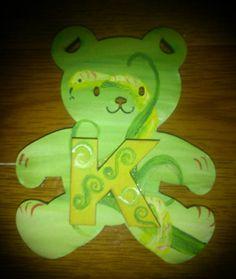 Little snake bear is king of the forest by ArtZeeboze on Etsy