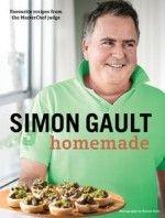 Book Cover:  Simon Gault Homemade