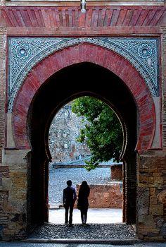 Puerta del Vino, Alhambra. Granada