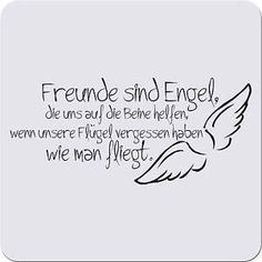 My angels are Luna Lovegood and Liv Silver ! Osho, German Quotes, German Words, More Than Words, True Words, Friendship Quotes, Cool Words, Quotations, Best Friends
