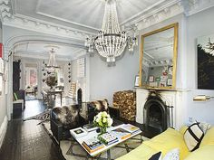 Mirror leaned over fp. J.Crew Creative Director Jenna Lyons Sells Park Slope Townhouse For $4 Million