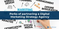 Digital marketing has become an essential platform for businesses. The best marketing strategy agency in the USA is evaluating the perks of partnering with the best digital marketing agencies for the best results. Best Digital Marketing Company, Digital Marketing Strategy, Social Media Marketing, Coach, Competitor Analysis, Seo Services, Tips, Platform, Usa