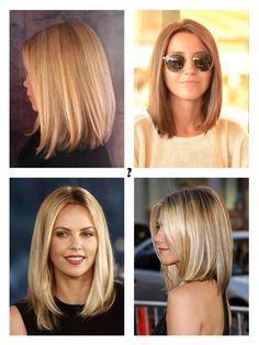 Long bob hair styles - Jennifer Anniston