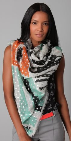 Love this #scarf