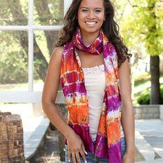 Prints Charming Tie Dye scarf