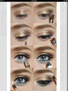 20 Tutoriales de Maquillaje para los Ojos Azules. Increíbles!!!