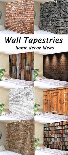 The home decor ideas of wall tapestries.Change your bedroom style.Free shipping worldwide & Room Planner. Just enter your dimensions and it shows you ways to ...