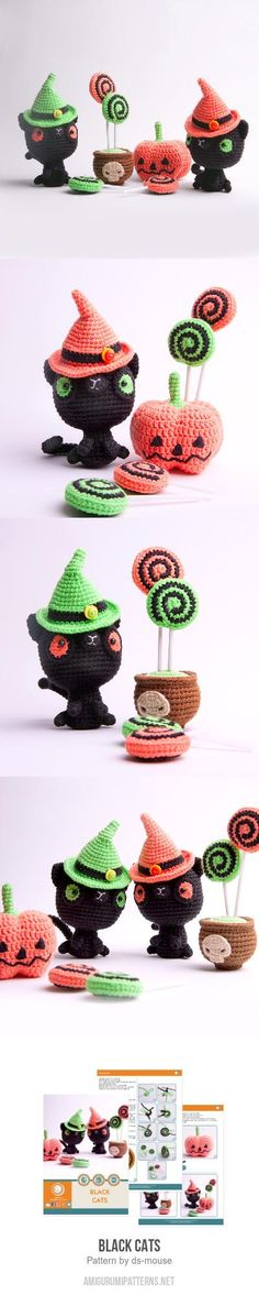 Black Cats amigurumi pattern