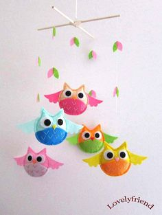 owl baby mobile!