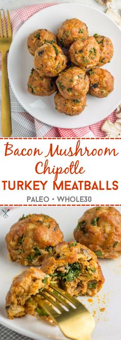 These Whole30 meatballs are a healthy dinner with some kick. Spicy, savory, and made in under 30 minutes! Perfect to batch cook and reheat for later.