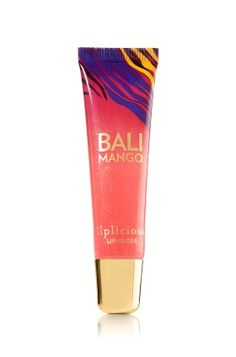 I love wearing this in the summer time! Or anytime really! Bath and Body Works Liplicious Mango lip gloss!