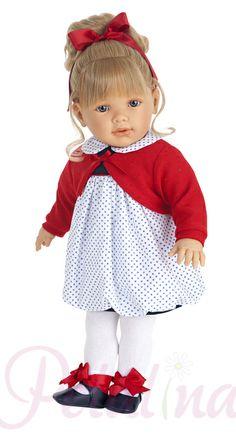 Petalina - Dolls > Antonio Juan Lula Marina Toddler 55cm Doll
