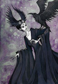 The Raven Lady by IrenHorrors on DeviantArt