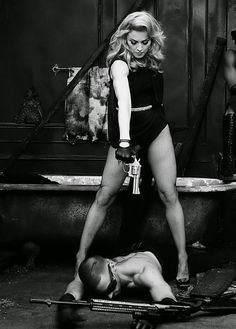 Madonna ph Steven Klein for Secret Project Revolution, 2013