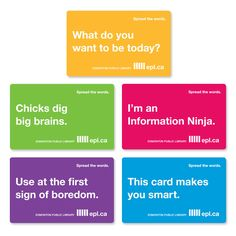 129 best library cards images on pinterest library cards public love these library cards from the edmonton public library colourmoves
