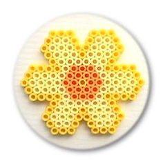 Daffodil hama perler beads