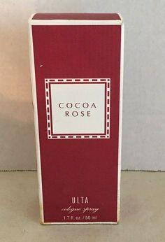 Ulta Cocoa Rose Cologne Spray fl oz Rare Discontinued New with Box Perfume Store, Perfume Oils, Giorgio Armani, Perfume Versace, Perfume Calvin Klein, Rose Bath, Eau De Cologne