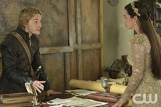 "Reign -- ""Blood for Blood"" -- Image Number: Re205a_0309r.jpg -- Pictured (L-R):Toby Regbo as King Francis II and Adelaide Kane as Mary, Queen of Scotland and France -- Photo: Ben Mark Holzberg/The CW -- © 2014 The CW Network, LLC. All rights reserved."