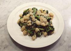 gnocchi i sardell och citronsmör med rosmarin svartkål och broccoli