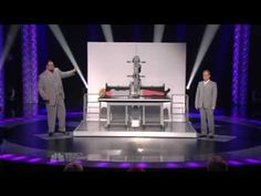 Penn and Teller on America's Got Talent - This is the most epic and hilarious magic trick ever! It's a spin-off of the usual sawing a woman in half - but epic twist! You know you want to watch it :)