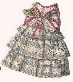 McLoughlin Paper Doll Clara West