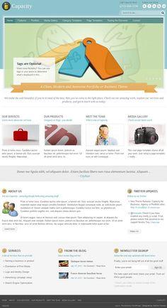 Modern business premium WordPress theme