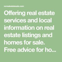 Offering real estate services and local information on real estate listings and homes for sale. Free advice for home buyers and sellers moving or relocating. Nc Real Estate, Real Estate Services, Free Advice, My Philosophy, Charlotte Nc, Property Management, Homes, Blog, Houses