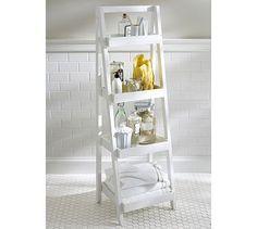 Floor-Standing Ladder #potterybarn