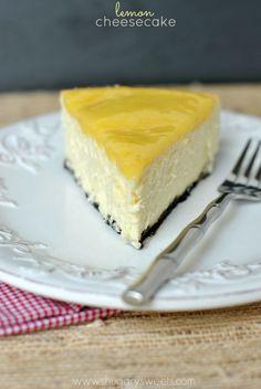 Lemon Cheesecake - Shugary Sweets