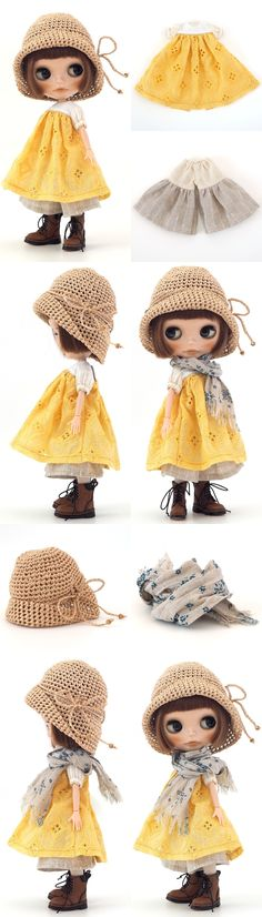 ** Blythe outfit ** Lucalily 473 ** - ヤフオク!