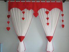Vorhang Querbehang Fensterdeko Kinderzimmer 140-180cm Handarbeit KinderGardine