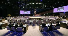 World leaders attend the opening session of the Nuclear Security Summit in The Hague on March 24, 2014. | AP Photo
