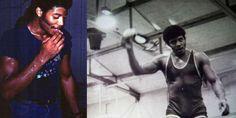 Neil deGrasse Tyson in college! Mind blown.