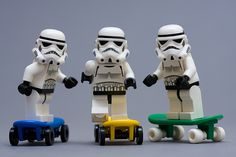 Skateboarding Stormtroopers | Flickr - Photo Sharing!