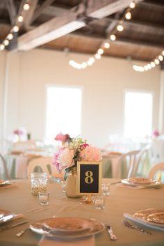 Mint gold and pink barn wedding near Salem, Oregon.