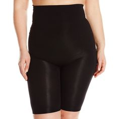5eff122cb6 Women s Plus Size Full Figure The Catwalk High-Waist Panty - Black -  CA129JCBCKN