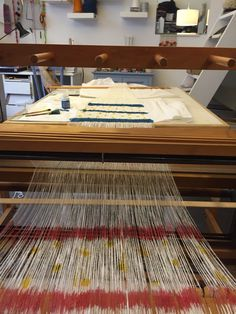 Linen handweaving textile #handweaving #designtexiles #artespalermo #loom # giuliettasalmeri #linen