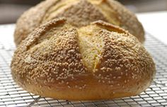 Country Yam and Sesame Bread Recipe  Fall is upon us and a great time to uses those yams up. This bread recipe is unique and delicious. I used Tahini, which is used to make hummus and adds a great sesame seed flavor to this bread recipe.