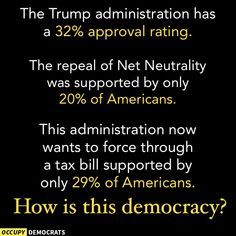 How is this democracy?