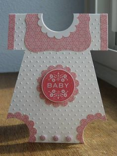 Baby Girl Onesie with Bib by klwco - Cards and Paper Crafts at Splitcoaststampers