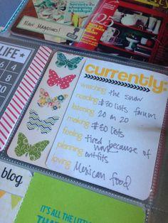 Mrs. Crafty Adams: Project Life Week 9