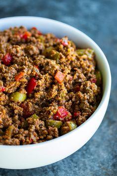 Beef Picadillo, Pea Recipes, Mexican Food Recipes, Cooking Recipes, Healthy Recipes, Puerto Rican Chicken Stew, Puerto Rican Dishes, Puerto Rican Recipes, Kitchen