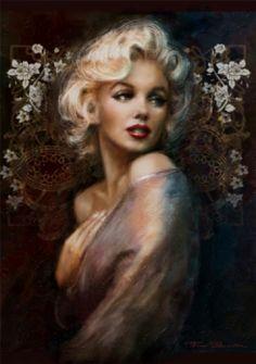 Marilyn in Art by <3 https://www.facebook.com/TheoDanella © ❥ Posters/Prints: www.PVZ.net ... and many more.... www.danella.de