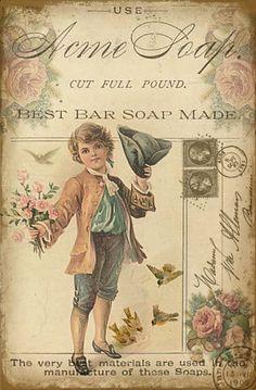 Soap ad, little boy