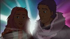 An Artist Brilliantly Reimagined How Disney Animals Would Look As Humans - Jenna & Balto (humans)
